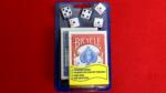 Bicycle 2 Decks Standard Poker and 5 Dice Set