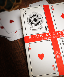 Four Ace Intro's by Ken de Courcy - Book