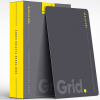 Grid Typographic Playing Cards
