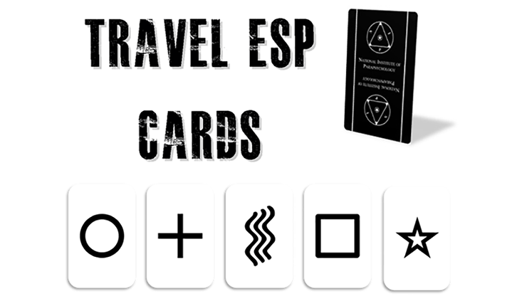 Travel ESP Cards (Gimmicks and Online Instructions) by Paul Carnazzo - Trick