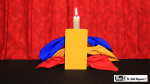Candle Through Silks (Stage Version) by Mr. Magic - Trick