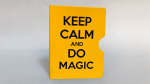 Keep Calm and Do Magic Card Guard (Yellow) by Bazar de Magia