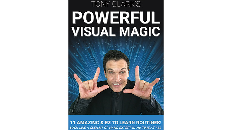 Powerful Visual Magic by Tony Clark - DVD