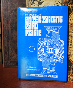 Cy Endfield's Entertaining with Card Magic (Limited/Out of Print) - Book