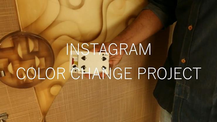 Magic Encarta Presents INSTAGRAM COLOR CHANGE PROJECT by Vivek Singhi video DOWNLOAD