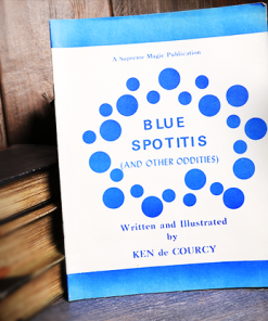 Blue Spotitis by Ken de Courcy - Book