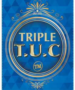 Triple TUC Half Dollar (Gimmicks and Online Instructions) by Tango - Trick