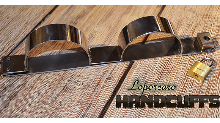 Loporcaro Handcuffs by Amazo Magic - Trick