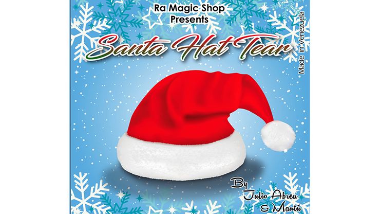 Santa Hat Tear by Ra El Mago and Julio Abreu - Trick