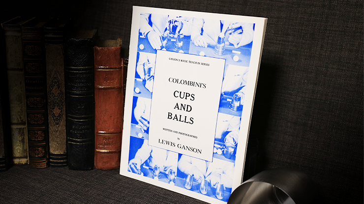 Colombini's Cups and Balls by Lewis Ganson - Book