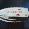 52 Shades of Red (Gimmicks included) Version 3 by Shin Lim - Trick