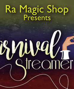 Carnival Streamer Christmas (Red