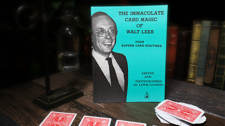 The Immaculate Card Magic of Walt Lees - Book
