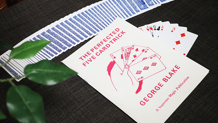 The Perfected Five Card Trick by George Blake - Book