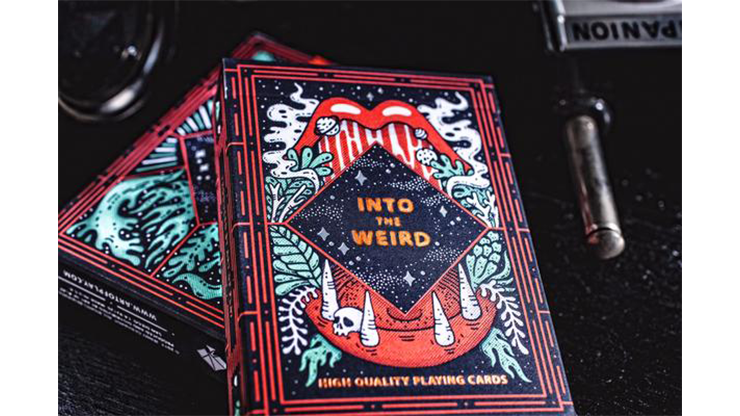 Into the Weird Playing Cards by Art of Play