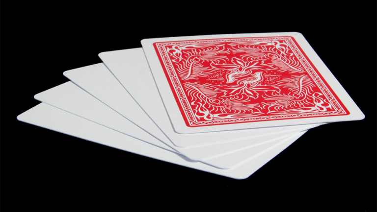 Insight Blank Face Cards (Set of 5) by Hugo Shelley - Trick