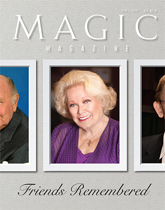 "Magic Magazine ""Friends Remembered"" April 2016 - Book"