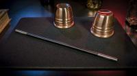 Standard Close-Up Pad 11X16 (Black) by Murphy's Magic Supplies - Trick