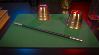 Standard Close-Up Pad 11X16 (Green) by Murphy's Magic Supplies - Trick
