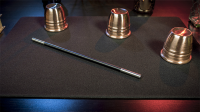 Economy Close-Up Pad 16X23 (Black) by Murphy's Magic Supplies - Trick