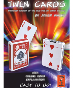 Twin Cards by Joker Magic - Trick