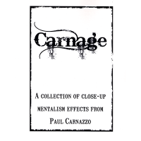 Carnage by Paul Carnazzo - Book