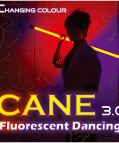 Color Changing Cane 3.0 Fluorescent Dancing (Professional two color) by Jeff Lee - Trick