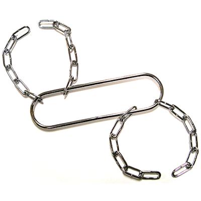 Houdini Handcuffs (Chrome) by Vincenzo Di Fatta - Tricks