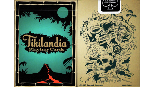 Tikilandia Playing Cards Printed by USPCC