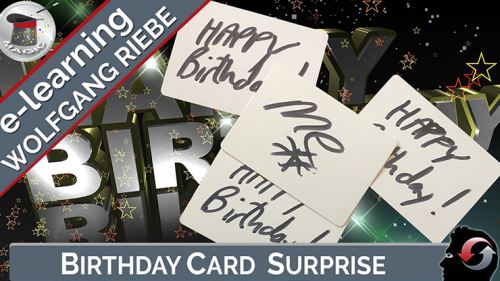Birthday Card Surprise by Wolfgang Riebe - video DOWNLOAD