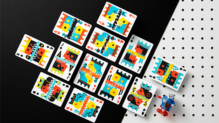Off the Wall Playing Cards by Art of Play - Tricksupply
