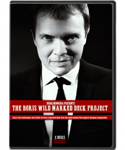 The Boris Wild Marked Deck Project by Boris Wild - DVD