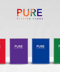 Pure (Black) Playing Cards