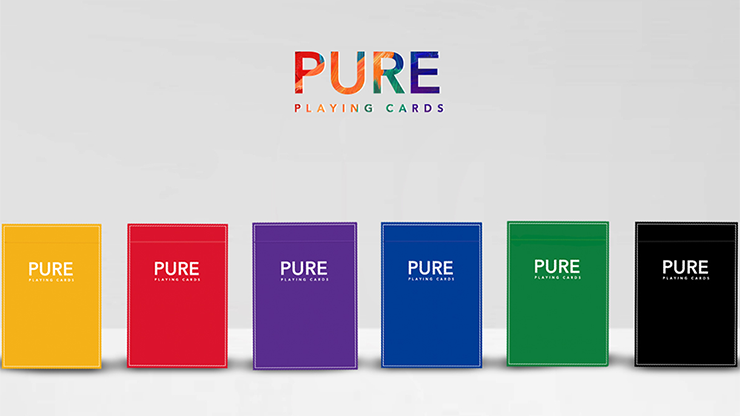 Pure (Purple) Playing Cards