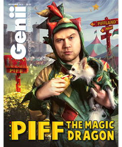 Genii Magazine November 2018 - Book