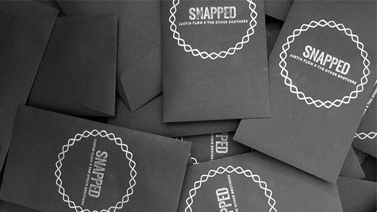 SNAPPED (Gimmicks and Online Instructions) by Justin Flom and The Other Brothers - Trick