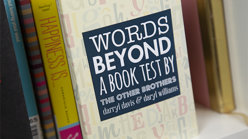 Words Beyond a Book Test by The Other Brothers - Trick