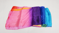 Multicolored Silk Streamer 9 inch by 16 ft from Magic by Gosh