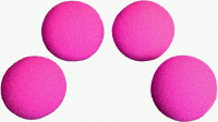 1.5 inch HD Ultra Soft  Hot Pink Sponge Ball Set from Magic by Gosh