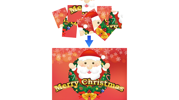 Christmas Puzzle by Tejinaya Magic - Trick