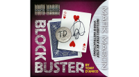 BLOCK BUSTER Blue (Gimmick and Online Instructions) by Tony D'Amico and Mark Mason - Trick