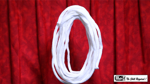 SUPER SOFT WOOL ROPE NO CORE 25 ft. (Extra-White) by Mr. Magic - Trick