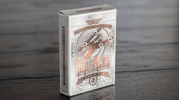 Top Aces of WWI V2 (Standard Edition) Playing Cards