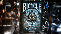 Bicycle Stained Glass Leviathan Playing Cards