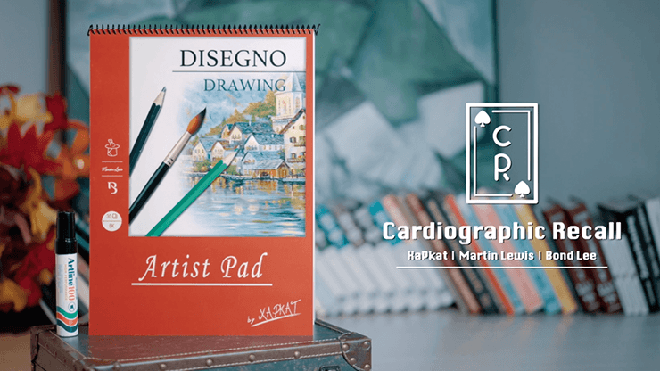 Cardiographic Recall (Card) by Martin Lewis