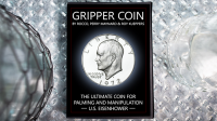 Gripper Coin (Single/ U.S. Esienhower) by Rocco Silano - Trick