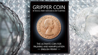 Gripper Coin (Single/ English Penny) by Rocco Silano - Trick