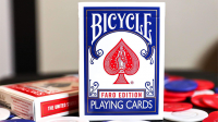 Limited Edition Gilded Bicycle Faro (Blue) Playing Cards