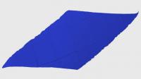 Diamond Cut Silk 24 inch (BLUE) by Magic by Gosh - Trick