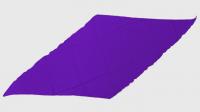 Diamond Cut Silk 24 inch (PURPLE) by Magic by Gosh - Trick